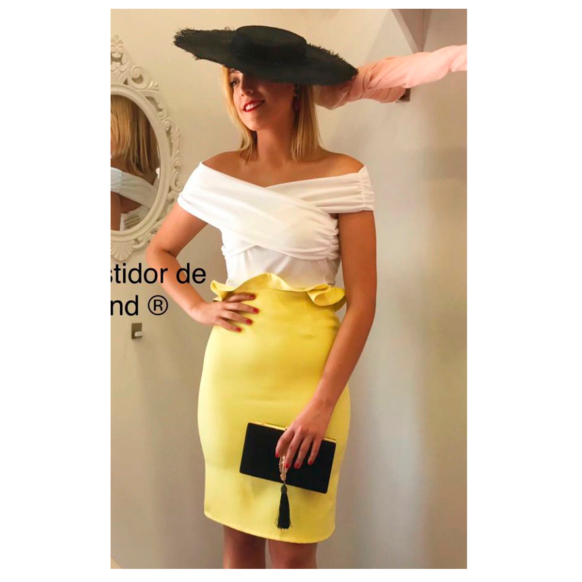 bde750019 falda detalle cintura –