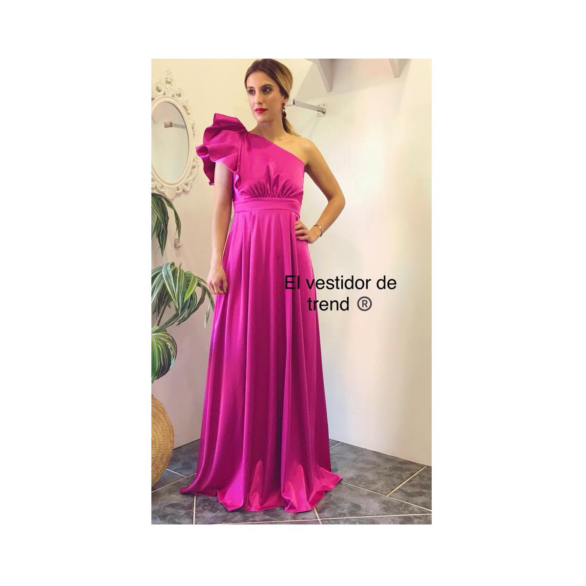 vestido largo buganvilla –